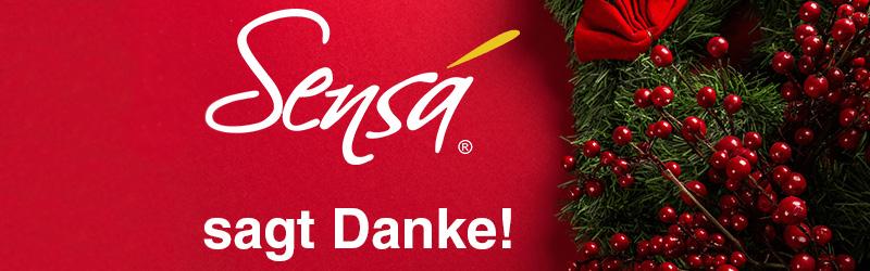 Sensá sagt Danke!
